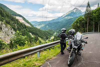 european motorcycle travel photography switzerland