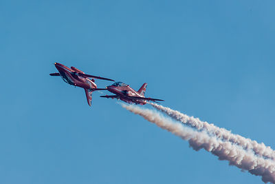 Red Arrows mirror pair