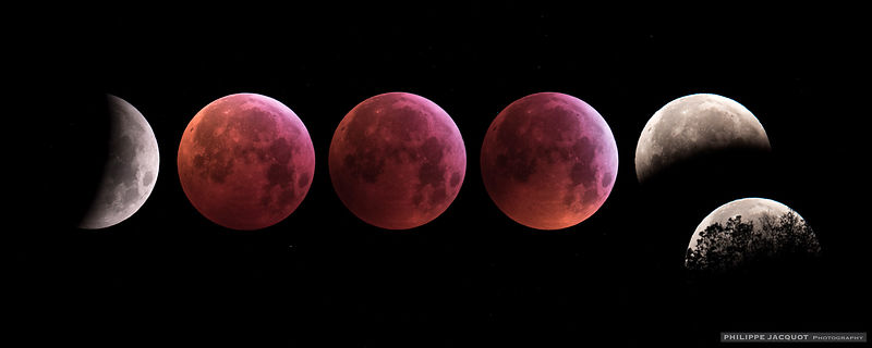 2019 - Total lunar eclipse - France - Upaix