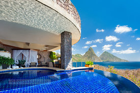 Photography for Jade Mountain Resort, St Lucia