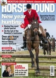 Horse & Hound cover, 4th January 2013 - Nicholas Leeming MFH