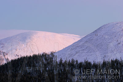 Fells in winter