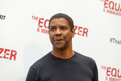 "Denzel Washington attends a photocall for the Italian release of the film ""The Equalizer."""