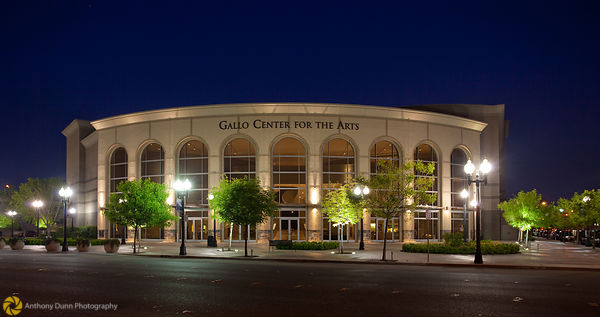 Gallo Center at Night #1