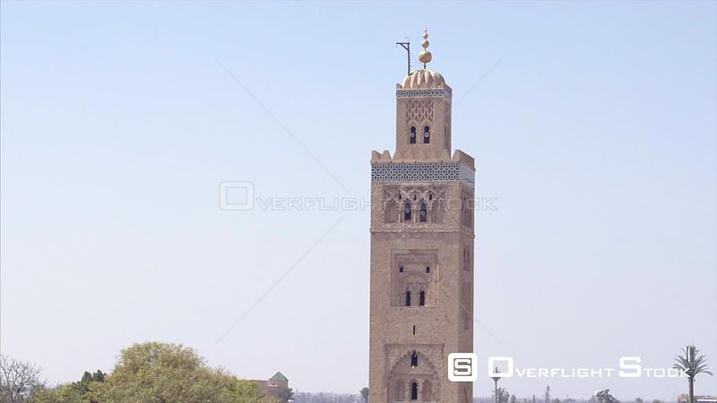 Minaret of the Koutoubia Mosque, 12th century, Marrakesh Morroco