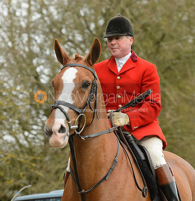 John Holliday on the road - The South Shropshire and Belvoir Hunts at Belvoir Castle 11/3/17