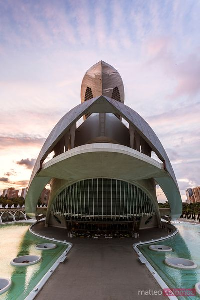Palau de les Arts, City of Arts and Sciences, Valencia, Spain