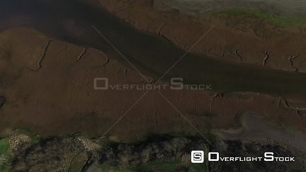 Bay of Fundy Tide Mud flats Nova Scotia Canada