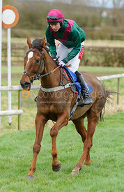HI VIC (Archie Wright) - Race 5 - 9YO and over Conditions - The Cottesmore Point-to-point 26/2
