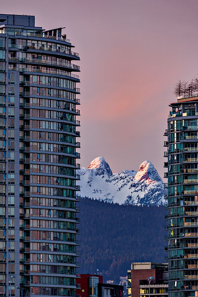 Surreal Vancouver View of the Lions