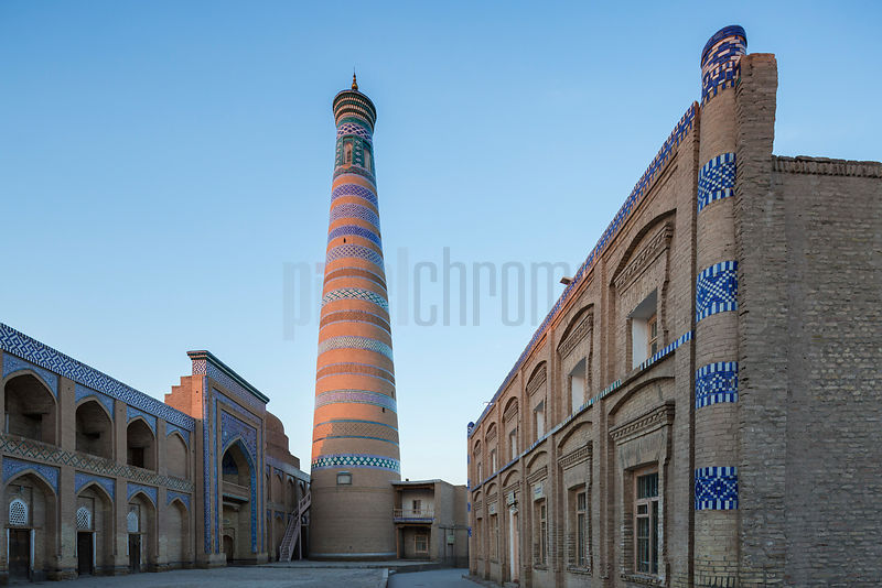 Islam Khodja Minaret at Sunrise