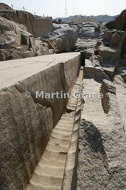 The Unfinished Obelisk, Northern Quarries, Aswan, Egypt