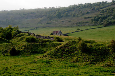 Old Barn under Longstone Edge