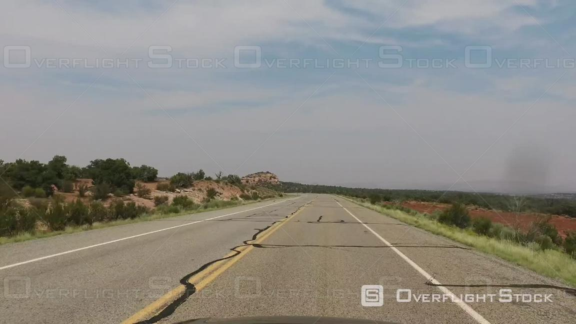 Driving a Scenic Road Time Lapse Footage