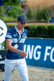 27/07/18, Berlin, Germany, Sport, Equestrian sport Global Jumping Berlin -   Image shows Christian Kukuk. Copyright: Thomas R...