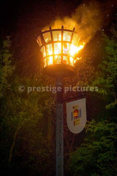 VE Day Beacon in Banbury Oxfordshire