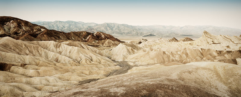 Zabrisky Point, Death Valley National Park, California