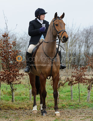 The Cottesmore Hunt at Town Park Farm 5/1
