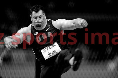 Jarred Rome (USA) Discus Throw
