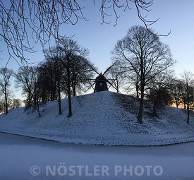 Sunrise over Kastellet
