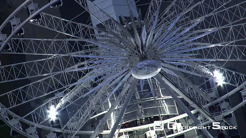 Aerial shot of the Wheel of Excellence in Cape Town. Cape Town Western Cape South Africa
