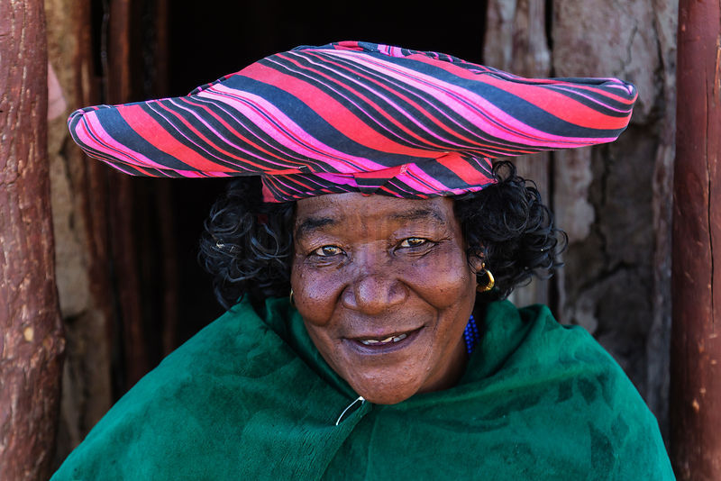 Portrait of a Herero Woman