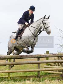 Maz Medcalf - The Cottesmore Hunt at Burrough House 18/12