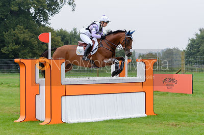 Gemma Tattersall and ARCTIC SOUL - cross country phase,  Land Rover Burghley Horse Trials, 6th September 2014.