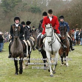 New Foest Hounds Boxing Day Meet 2014