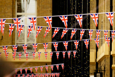 Union Jack Bunting in London