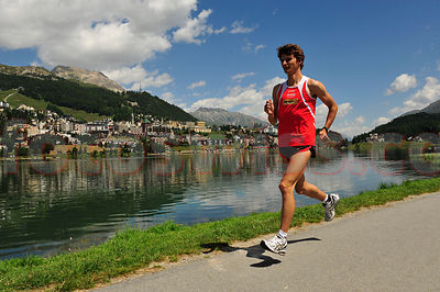 Rolf Rüfenacht Post-Laufteam Leichtathletik Trainingswoche in St.Moritz
