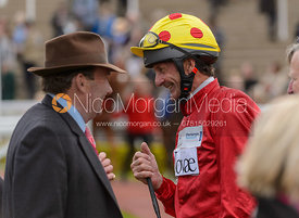 Sir Mark Todd and Nicky Henderson - Champions Willberry Charity Flat Race - Cheltenham Racecourse, April 20th 2017