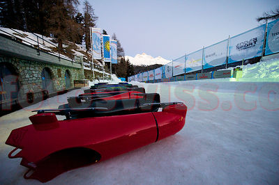 Sachs - Getty Challenge am Olympia Bob Run in St. Moritz