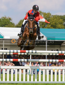 Marilyn Little and RF DEMETER - show jumping phase, Burghley Horse Trials 2014.