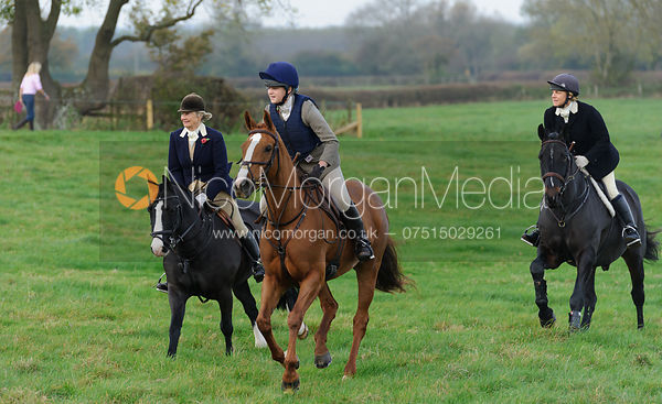 The Quorn Hunt at Barrowcliffe