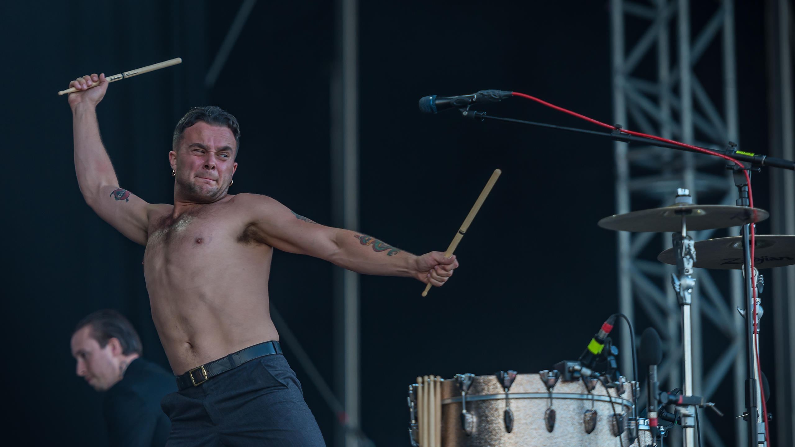 Slaves Smashing it on Sunday Afternoon on the Main Stage at Victorious Festival 2017
