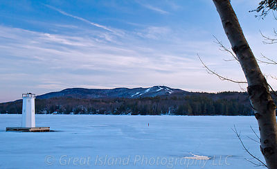 Early Spring Mt Sunapee & Burkehaven Lighthouse