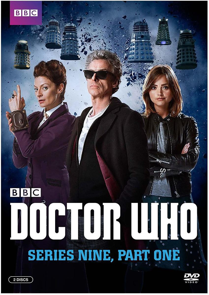 Doctor Who Series 9 DVD cover publicity photograph