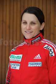 Maya Pedersen Swiss Skeleton Team at Olympia Bob Run Saint St. Morit