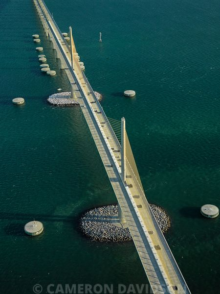 Florida USA Aerial Sunshine Skyway