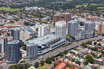 Bondi Junction Aerial Photography