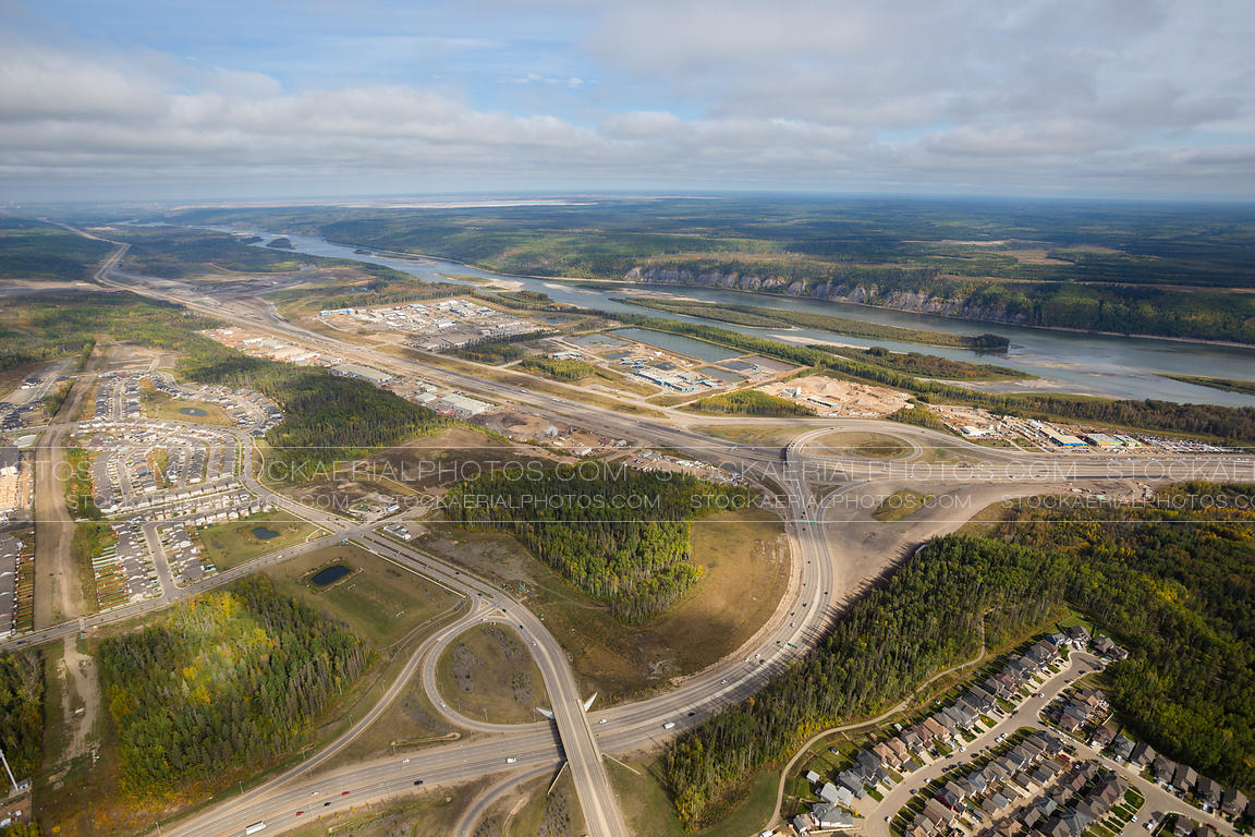 Confederation Way and Memorial Drive, Fort McMurray, Alberta