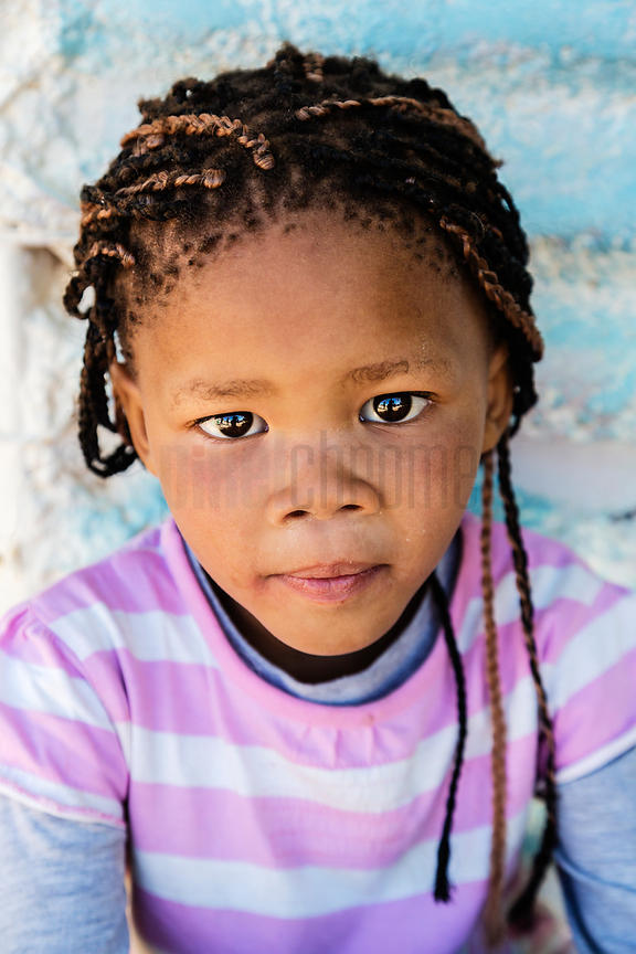 Portrait of a Young Nama Girl.