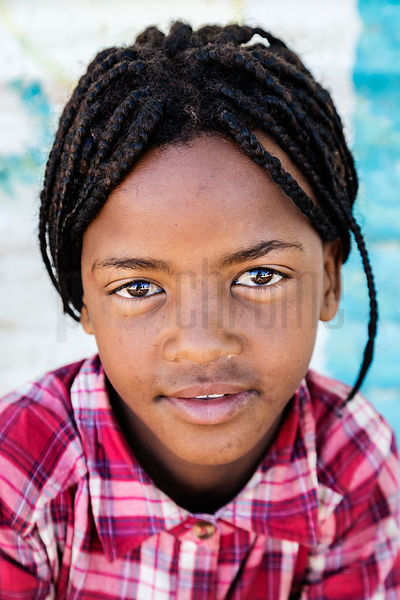 Portrait of a Nama Girl