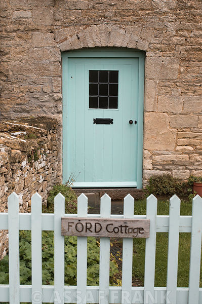 Cottage gate and door, Cotswold