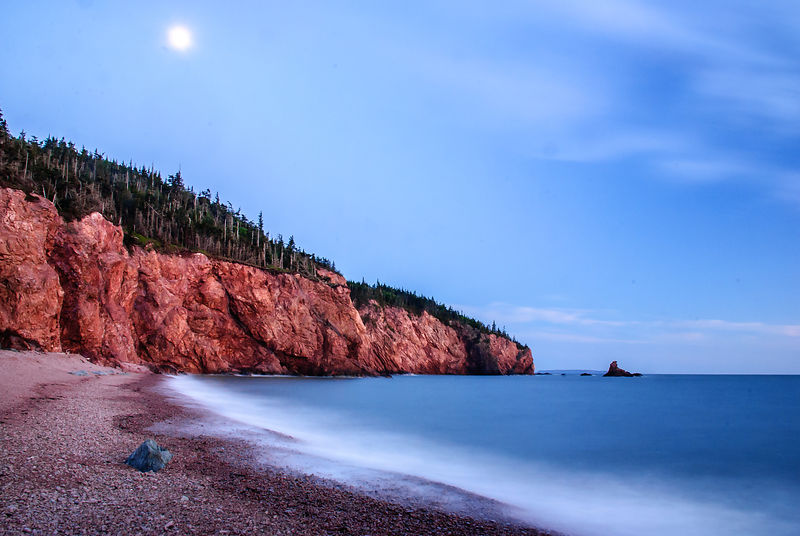 Seal Cove, Cape Chignecto, Nova Scotia