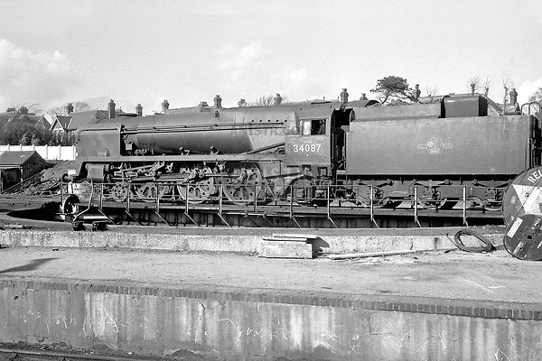 Steam loco BB 34087 Bournemouth