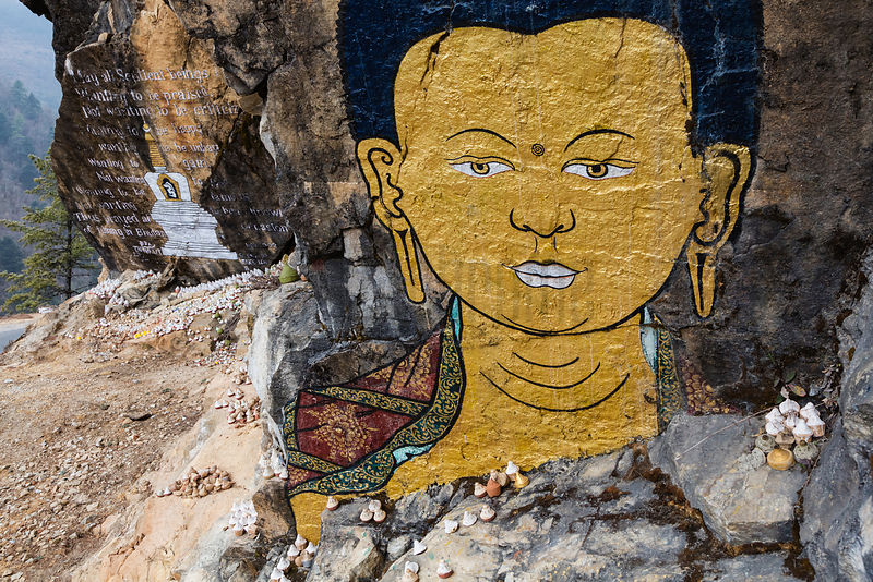 The Face of the Buddha Shakyamuni