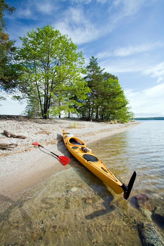 Kayak on Beach