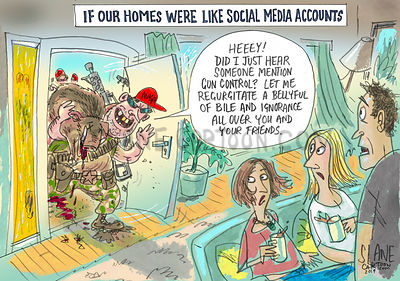 Social Media Home Invasion